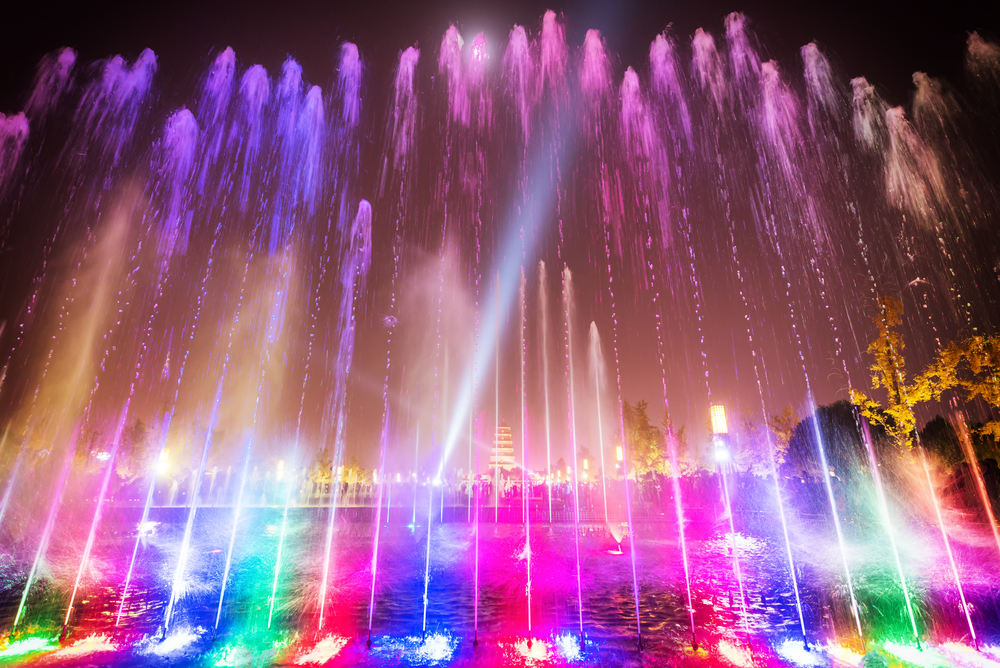 uncovering facts about thrilling light water and laser show in
