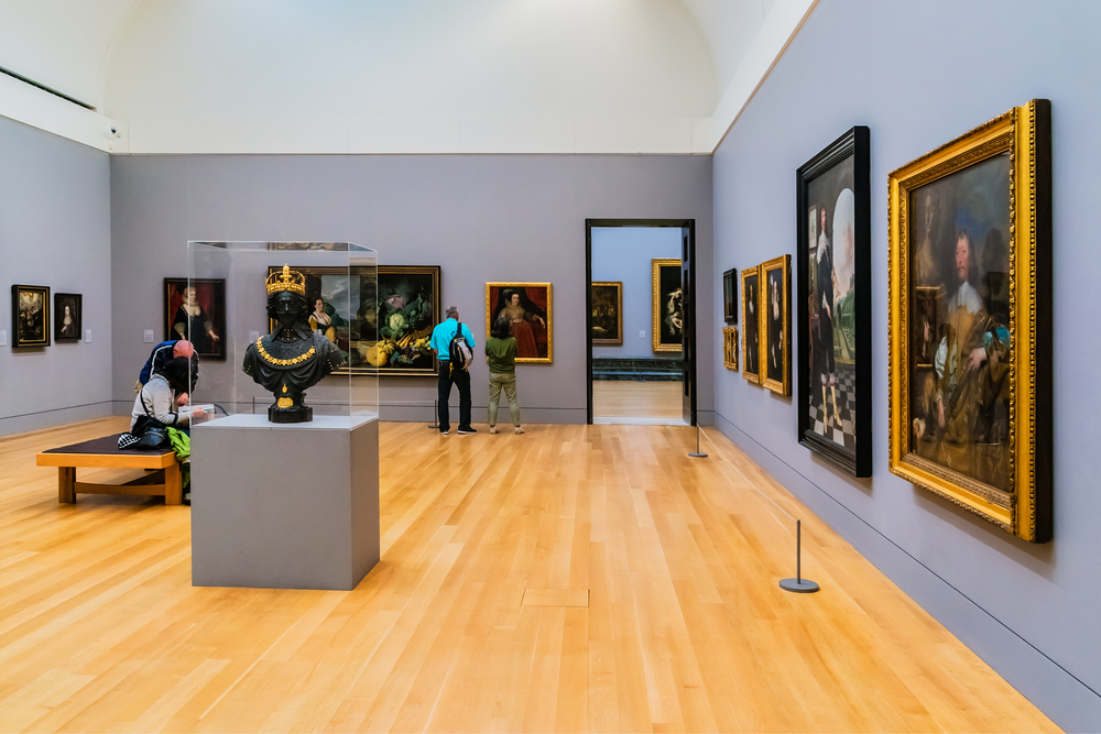 View Of A Gallery